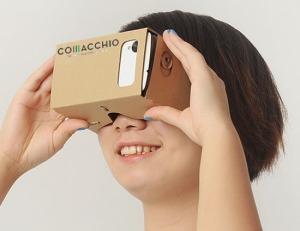 Google Cardboard con Brand Comacchio 2