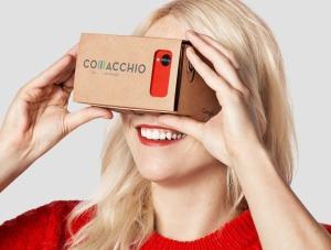 Google Cardboard con Brand Comacchio 4