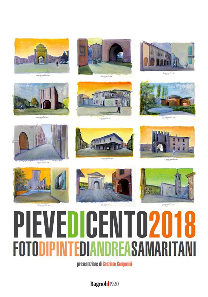 Cover calendario fotodipinte Pieve 2018